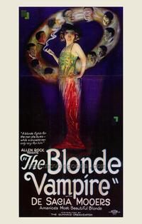 The Blonde Vampire - 43 x 62 Movie Poster - Bus Shelter Style A