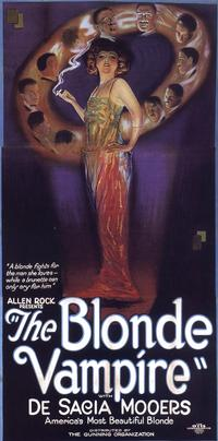 The Blonde Vampire - 14 x 36 Movie Poster - Insert Style A
