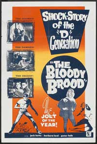 The Bloody Brood - 27 x 40 Movie Poster - Style A