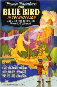 The Blue Bird - 11 x 17 Movie Poster - Style B
