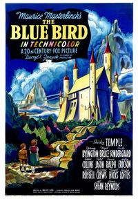 The Blue Bird - 43 x 62 Movie Poster - Bus Shelter Style A