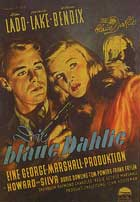 The Blue Dahlia - 11 x 17 Movie Poster - German Style A