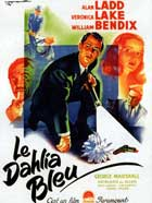 The Blue Dahlia - 27 x 40 Movie Poster - German Style A
