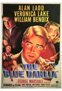 The Blue Dahlia - 27 x 40 Movie Poster - Style A
