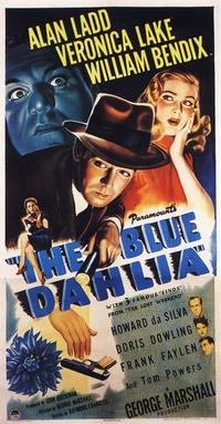 The Blue Dahlia - 14 x 36 Movie Poster - Insert Style A