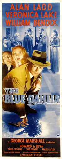 The Blue Dahlia - 14 x 36 Movie Poster - Insert Style B