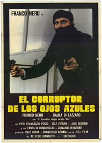 The Blue Eyed Bandit - 11 x 17 Movie Poster - Spanish Style A