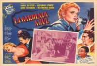The Blue Gardenia - 27 x 40 Movie Poster - Foreign - Style A