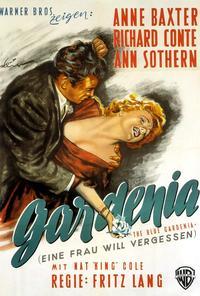 The Blue Gardenia - 27 x 40 Movie Poster - German Style A