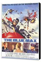The Blue Max - 11 x 17 Movie Poster - Style A - Museum Wrapped Canvas