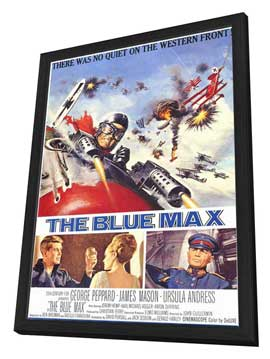 The Blue Max - 11 x 17 Movie Poster - Style A - in Deluxe Wood Frame