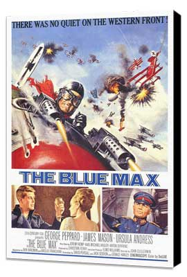 The Blue Max - 27 x 40 Movie Poster - Style A - Museum Wrapped Canvas