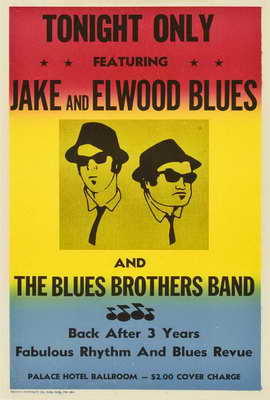 The Blues Brothers - 27 x 40 Movie Poster - Style E
