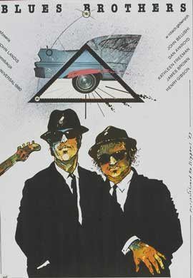 The Blues Brothers - 11 x 17 Movie Poster - Polish Style B