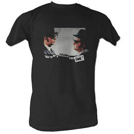 The Blues Brothers - Mission Black T-Shirt