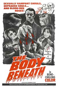 The Body Beneath - 11 x 17 Movie Poster - Style A