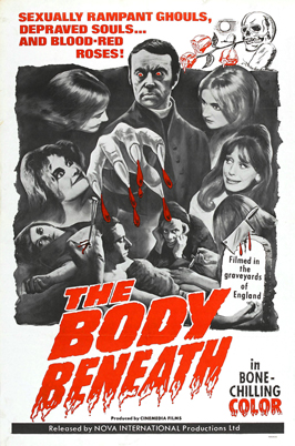 The Body Beneath - 27 x 40 Movie Poster - Style A