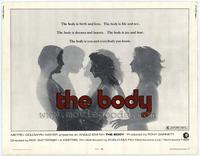 The Body - 22 x 28 Movie Poster - Half Sheet Style A