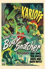 The Body Snatcher - 27 x 40 Movie Poster - Style B