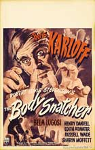 The Body Snatcher - 27 x 40 Movie Poster - Style H