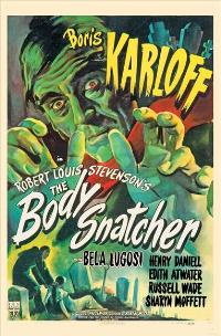 The Body Snatcher - 11 x 17 Movie Poster - Style B