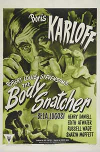 The Body Snatcher - 11 x 17 Movie Poster - Style C