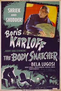 The Body Snatcher - 11 x 17 Movie Poster - Style D