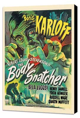 The Body Snatcher - 27 x 40 Movie Poster - Style B - Museum Wrapped Canvas