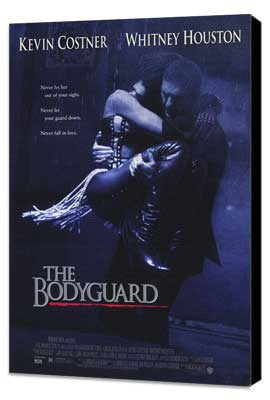 The Bodyguard - 27 x 40 Movie Poster - Style A - Museum Wrapped Canvas