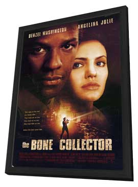 The Bone Collector - 27 x 40 Movie Poster - Style A - in Deluxe Wood Frame
