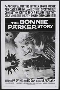 The Bonnie Parker Story - 27 x 40 Movie Poster - Style B