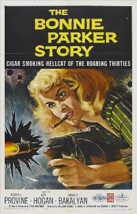The Bonnie Parker Story - 27 x 40 Movie Poster - Style D