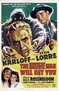 The Boogie Man Will Get You - 27 x 40 Movie Poster - Style B