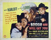 The Boogie Man Will Get You - 22 x 28 Movie Poster - Half Sheet Style A