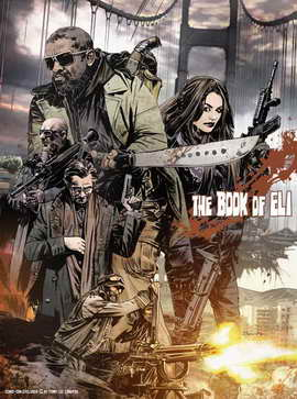 The Book of Eli - 11 x 17 Movie Poster - Style A