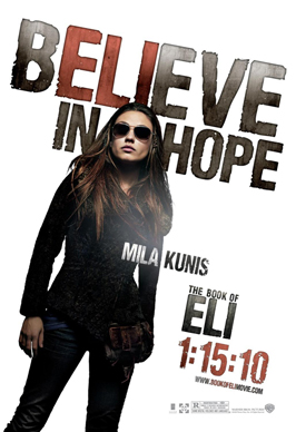 The Book of Eli - 11 x 17 Movie Poster - Style H