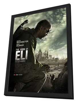 The Book of Eli - 11 x 17 Movie Poster - Style C - in Deluxe Wood Frame