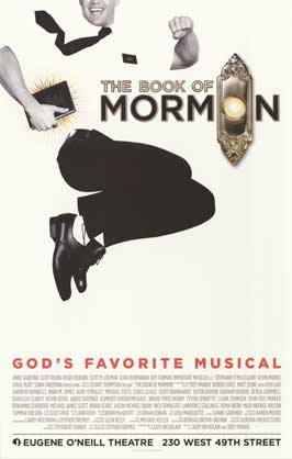 The Book of Mormon (Broadway) - 11 x 17 Poster - Style A
