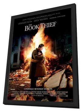 The Book Thief - 11 x 17 Movie Poster - Style A - in Deluxe Wood Frame