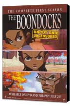 The Boondocks - 27 x 40 TV Poster - Style A - Museum Wrapped Canvas