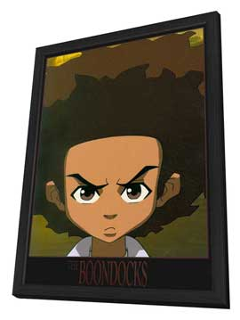 The Boondocks - 11 x 17 TV Poster - Style B - in Deluxe Wood Frame