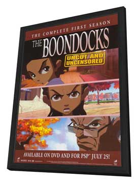 The Boondocks - 27 x 40 TV Poster - Style A - in Deluxe Wood Frame