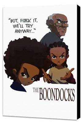 The Boondocks - 11 x 17 TV Poster - Style A - Museum Wrapped Canvas
