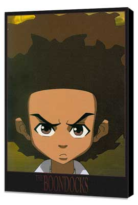 The Boondocks - 11 x 17 TV Poster - Style B - Museum Wrapped Canvas
