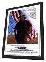 The Border - 11 x 17 Movie Poster - Style A - in Deluxe Wood Frame