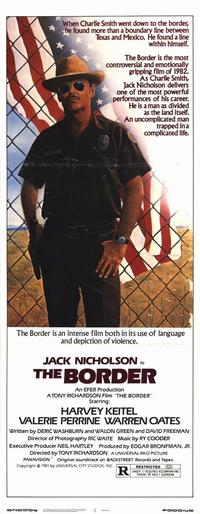 The Border - 14 x 36 Movie Poster - Insert Style A