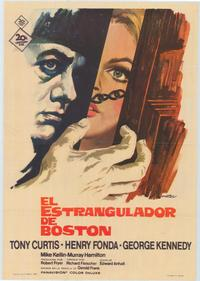 The Boston Strangler - 43 x 62 Poster - Foreign - Bus Shelter Style A