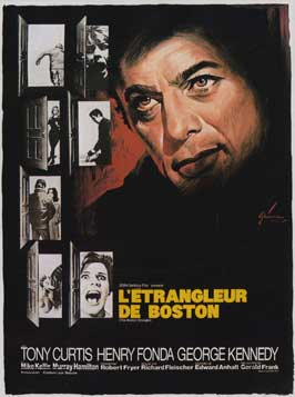 The Boston Strangler - 11 x 17 Movie Poster - French Style A