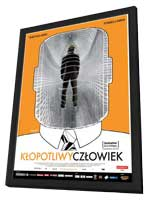 The Bothersome Man - 11 x 17 Movie Poster - Polish Style A - in Deluxe Wood Frame