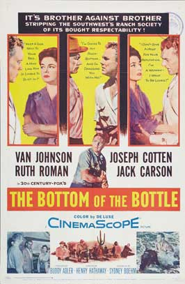 The Bottom of the Bottle - 27 x 40 Movie Poster - Style A
